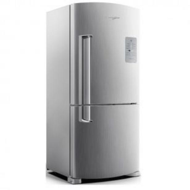 Oferta de Heladera No frost Whirlpool WRE80K2 Freezer Inferior 573 Litros por $228999