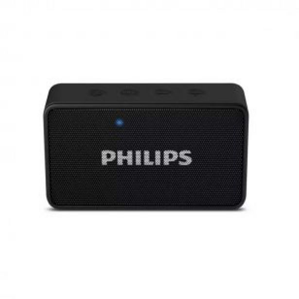 Oferta de Parlante Portátil Philips BT60BK Bluetooth con Micrófono por $2799