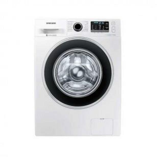 Oferta de Lavarropas Inverter Samsung 9 kg WW90J5410GW EcoBubble por $92744