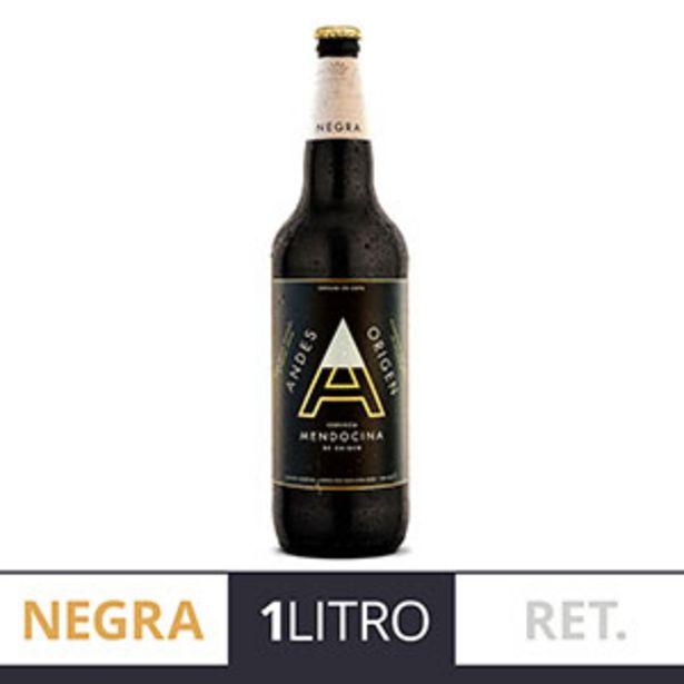 Oferta de ANDES ORIGEN CERVEZA NEGRA RET.1LT por $134,99