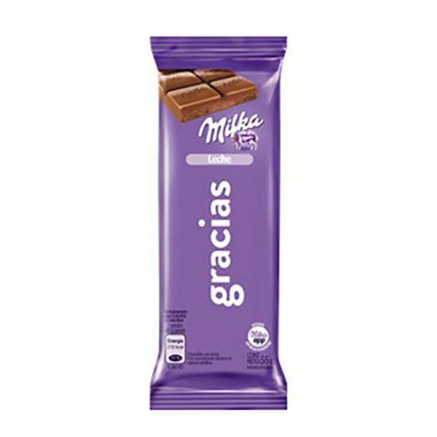 Oferta de MILKA CHOCOLATE LECHE 55GR por $2
