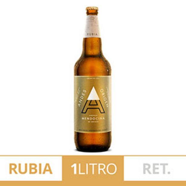 Oferta de ANDES ORIGEN CERVEZA RUB.RET 1LT por $134,99