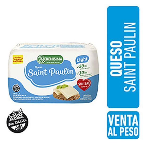 Oferta de SERENISIMA QUESO FRACC ST.PAULIN LIGHT XKG por $887,2