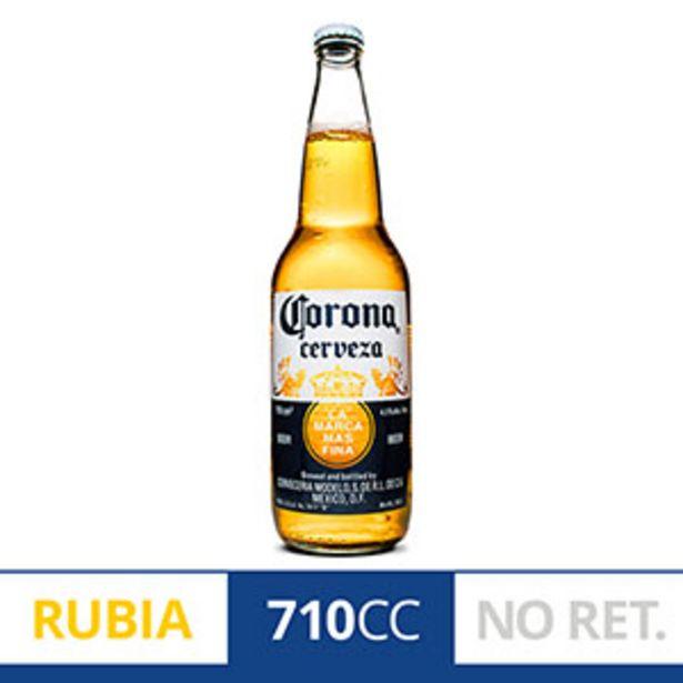 Oferta de CORONA RUBIA CERVEZA 710CC por $154,99