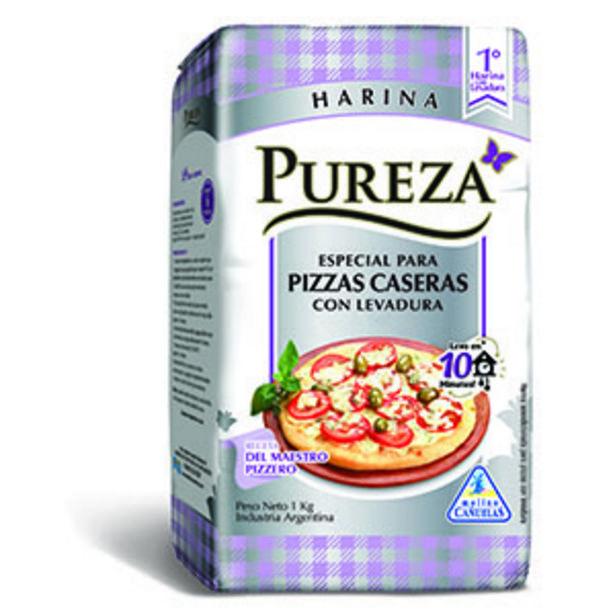 Oferta de PUREZA HARINA C/LEV.ESP.P/PIZZA X1KG por $79,99