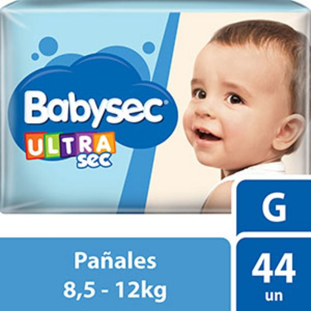 Oferta de BABYSEC PAnAL U/SEC HIPER GDE 40 U por $479,2