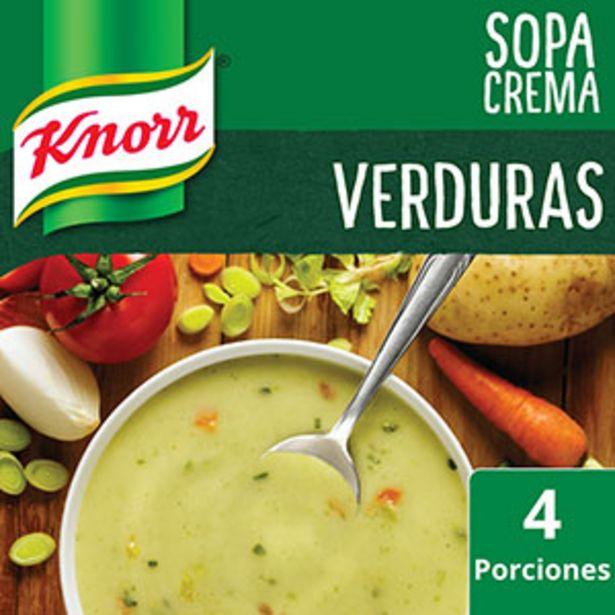 Oferta de KNORR SOPA CREMA VERDURA X60G por $69,29