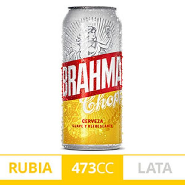 Oferta de BRAHMA CERVEZA LATA 473CC por $99,99