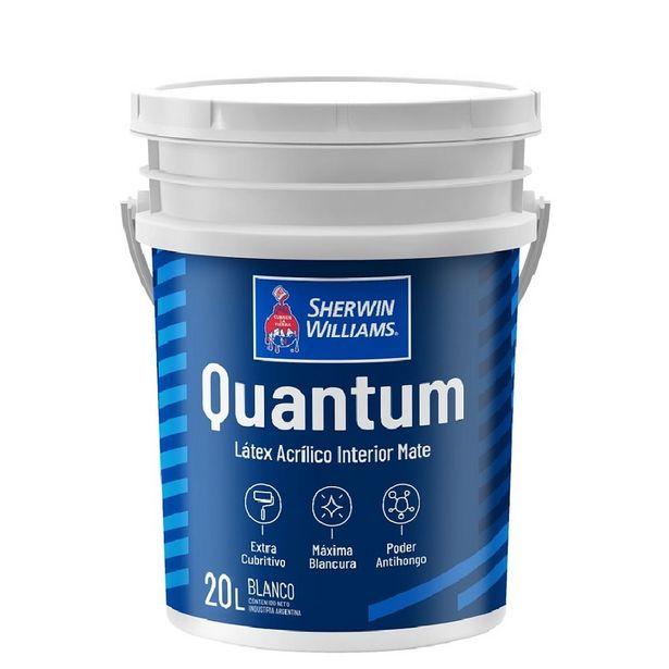 Oferta de Quantum Látex interior Mate 20 lts por $4428,34