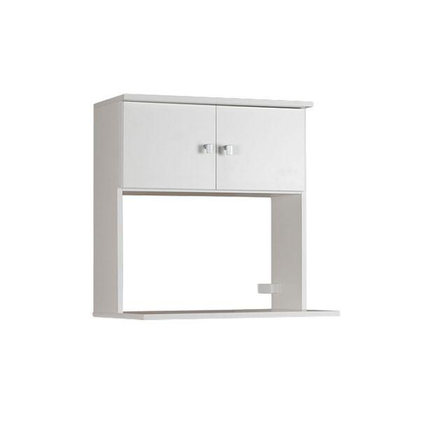 Oferta de Mueble para microondas colgante - 2 puertas y estante por $4467,94