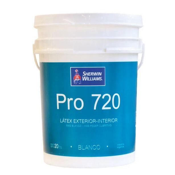 Oferta de Pro 720 Látex interior / exterior Mate 20 lts por $4170,81