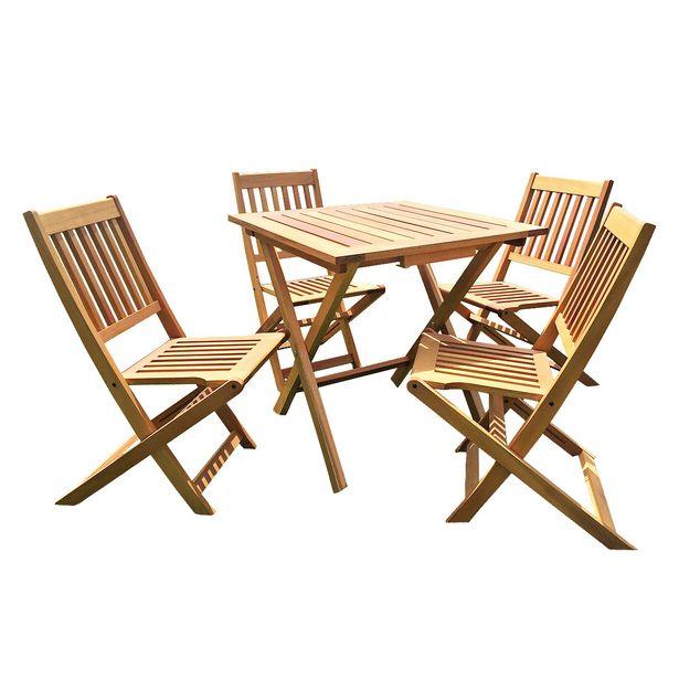 Oferta de Juego de jardín Bali - Mesa + 4 sillas por $52937,5