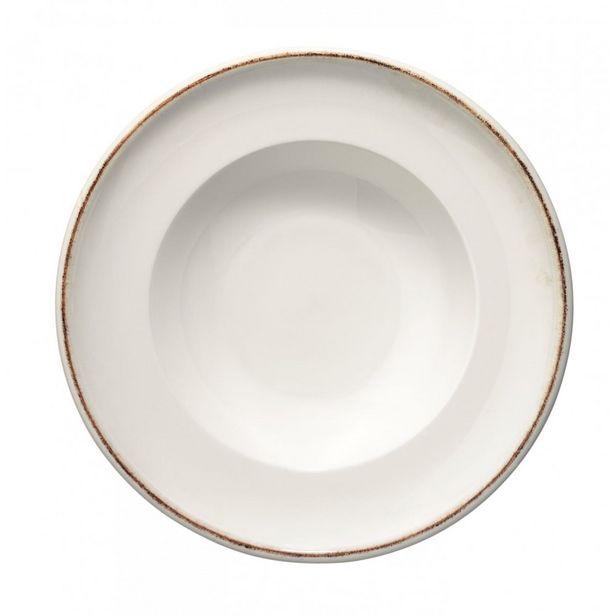 Oferta de Plato hondo Bonna Retro de porcelana - ø27 cm por $5239,5