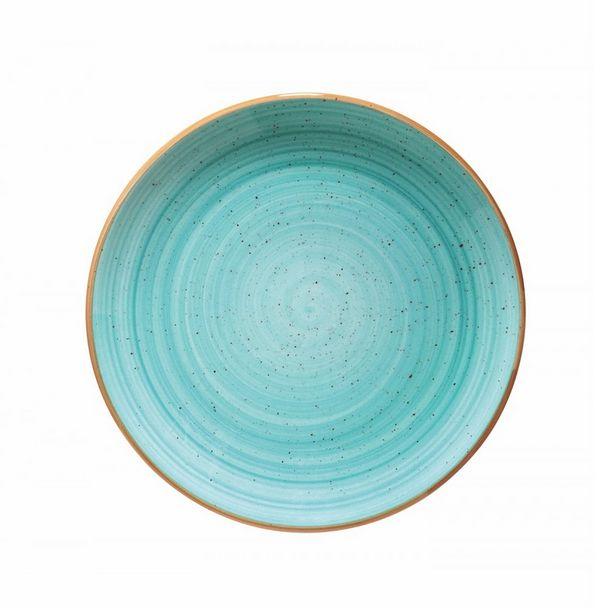 Oferta de Plato playo Aqua de porcelana - ø27cm por $4324