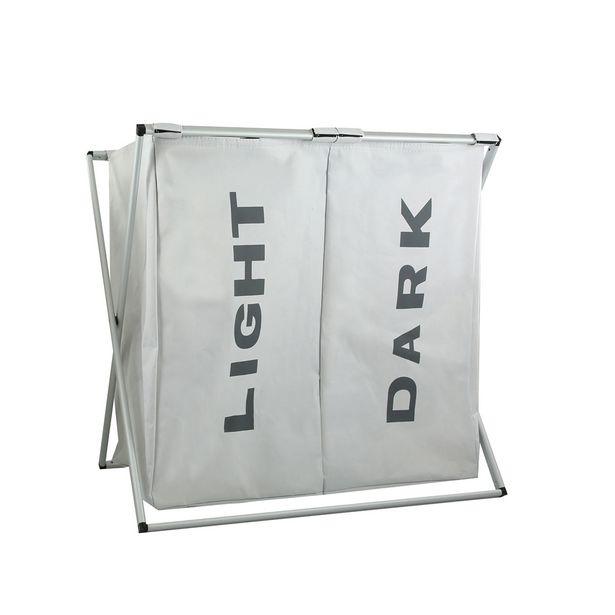 Oferta de Cesto doble para ropa - Plegable por $10690,75