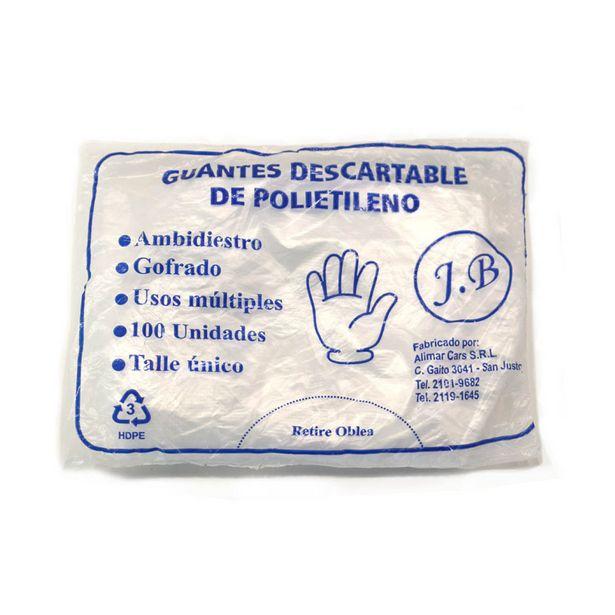 Oferta de Guantes descartables de polietileno (x 100 unidades) por $94