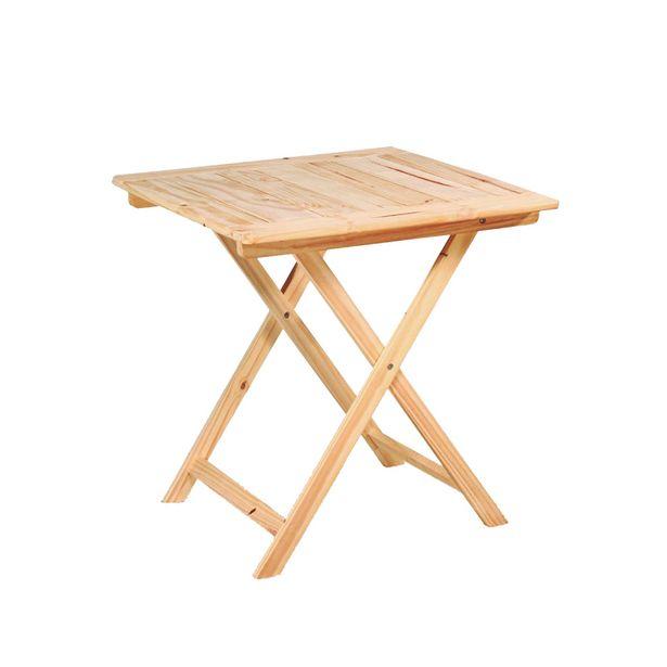 Oferta de Mesa plegable baja - madera de Pino por $8293,25
