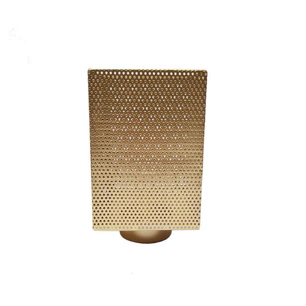 Oferta de Fanal portavela cúbico - Metal y vidrio por $4540,37