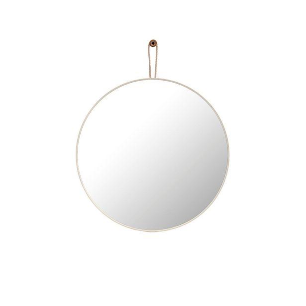 Oferta de Espejo Redondo White 57 por $5386,5