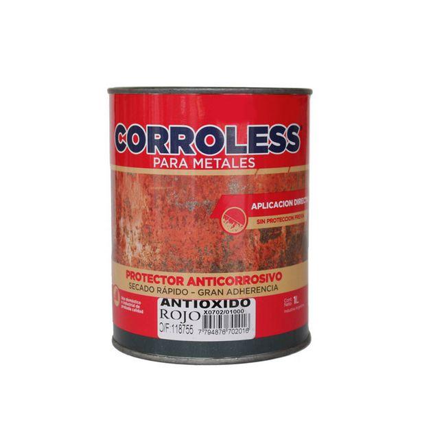 Oferta de Corroless Fondo sintético antióxido Mate 1 lt por $907,5