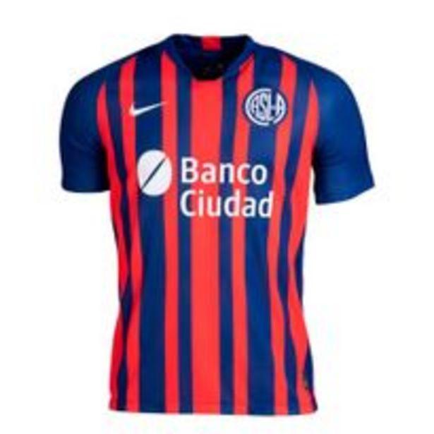 Oferta de Camiseta Futbol Nike San Lorenzo Stadium Hombre por $9029