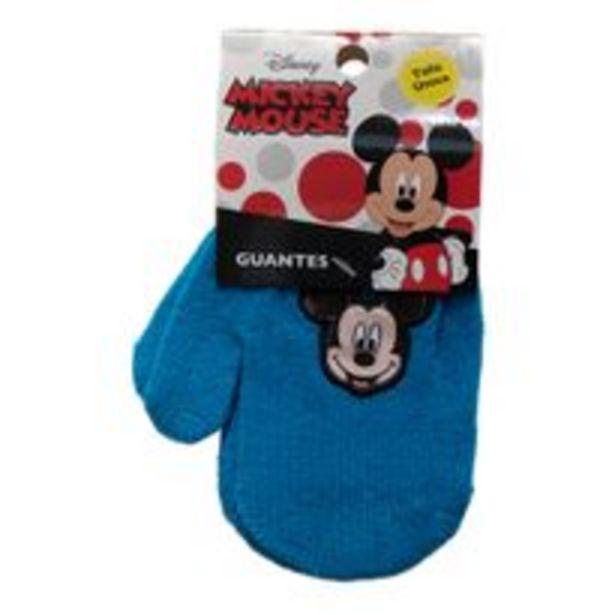 Oferta de Guantes Footy Mickey Mouse Azul por $509