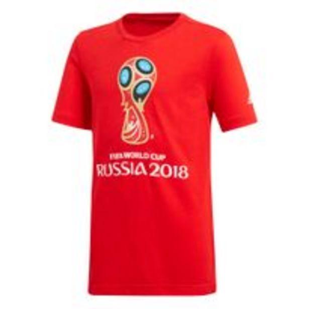 Oferta de Remera Moda Adidas Graphic FIFA World Cup Emblem Niños por $1814