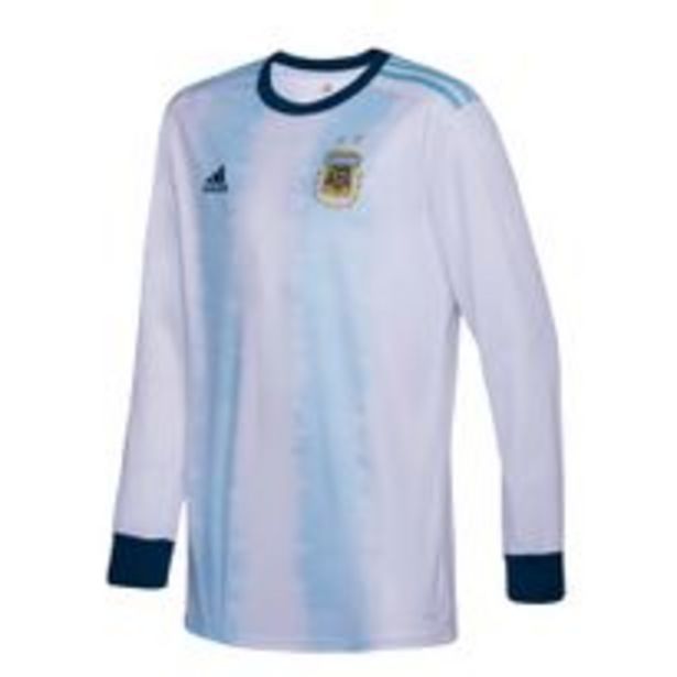Oferta de Camiseta Futbol Adidas Titular Seleccion Argentina Hombre por $3997