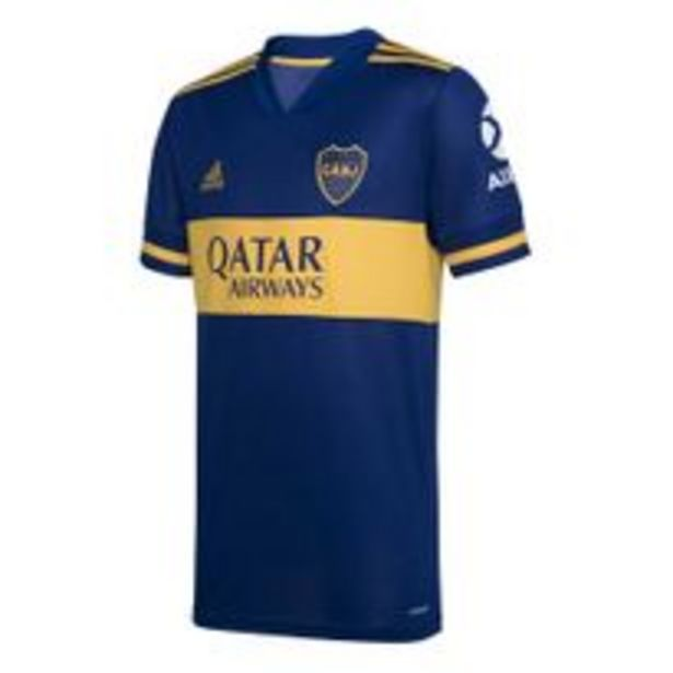 Oferta de Camiseta Futbol Adidas Boca JR L Hombre por $6349