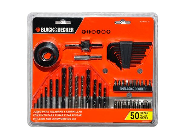 Oferta de TALADRO SET BLACK & DECKER BD7806 por $2499
