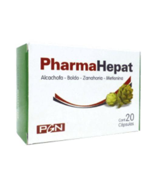 Oferta de Pharmahepat x 20 capsulas por $256