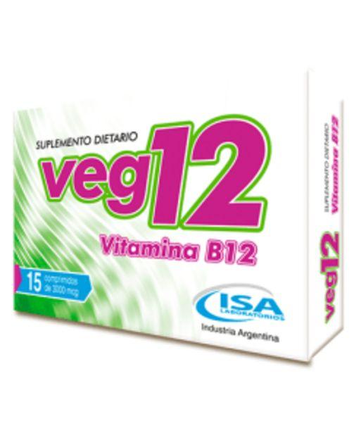 Oferta de Veg12 Vitamina B12 por $320