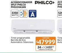 Oferta de Acon Spl Philco 3350W FC EA PHS32HA3AN por $47999