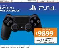 Oferta de Joystick Sony p/PS4 Dualshock 4 IMP por $9899