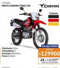 Oferta de Motoc Corven Triax 150 RY-FD-Nac por $129900