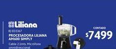 Oferta de Procesad Liliana AM600 SIMPLY 650W por $7499