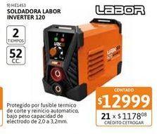 Oferta de Soldad Labor Inverter 120 por $12999