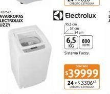 Oferta de Lavarr Electrolux fuzzy 6.5Kg 800RPM CS Bl por $39999
