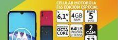 "Oferta de Cel Lib Moto E6S Ed.Esp 6,1"" 4/64 Azul por $19999"