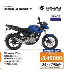 Oferta de Motoc Bajaj Rouser 135 AL-FD por $149000