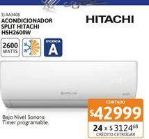 Oferta de Acon Spl Hitachi HSH2600W FC ECO por $42999