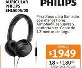 Oferta de Auricular Philips SHL5005/00 Vincha por $1949