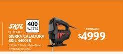 Oferta de Sierra Cal Skil 400w 4400JB por $4999