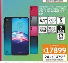 "Oferta de Cel Lib Moto E6S 6,1"" 2/32 Azul por $17899"