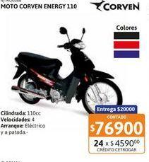 Oferta de Motoc Corven Energy 110 By Corven /// RY por $76900