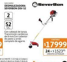Oferta de Desmalezadora Severbon DSV-52 52 cc por $17999