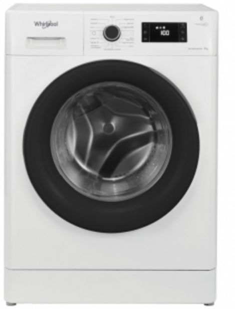 Oferta de Lavarropas Whirlpool 9Kg /Frontal 1200RPM Blanco por $85364