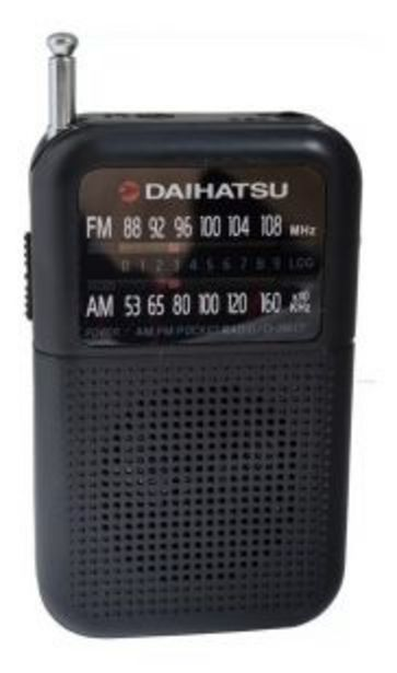 Oferta de Radio Portatil D-RK17 Daihatsu por $1313