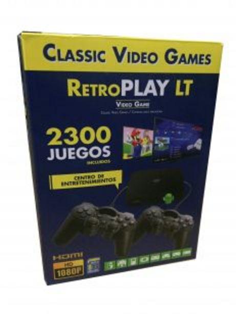 Oferta de Consola Retro 2 en 1 Android Tv + Video Juegos por $12218