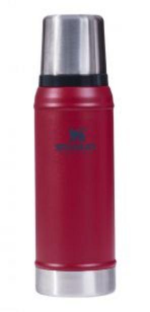 Oferta de Termo Clásico 750ml rojo con Tapón Cebador Stanley por $10205